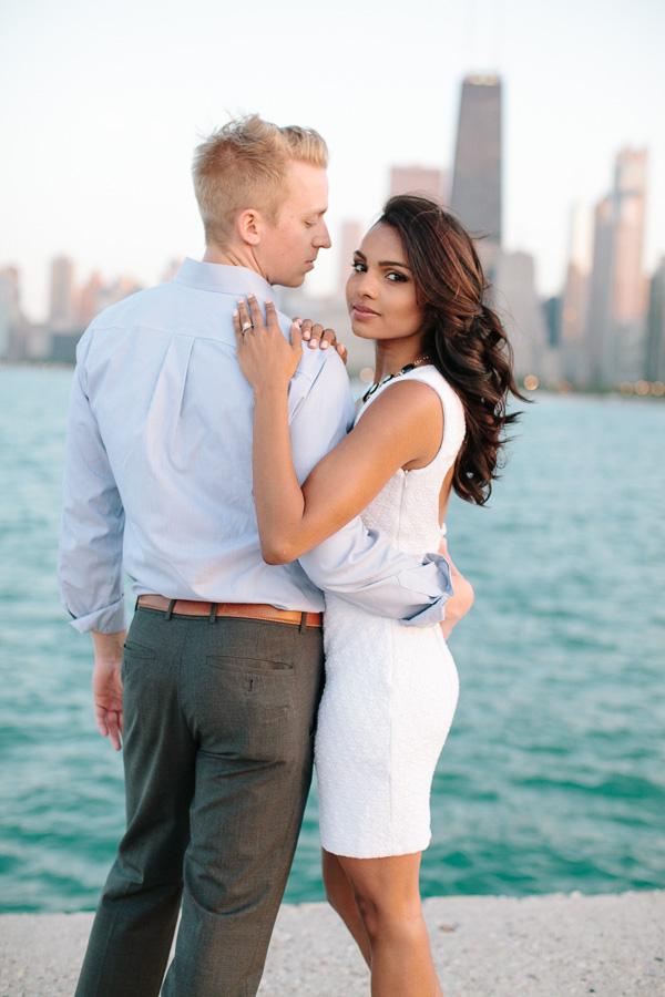 Sonja + Jordan | Chicago Engagement session preview