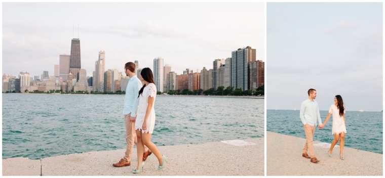 Lincoln Park Engagement Session, Blossom Lane Photography