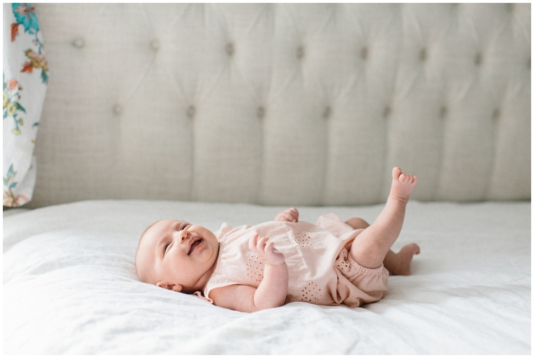Blossom Lane photography 2 month baby photography